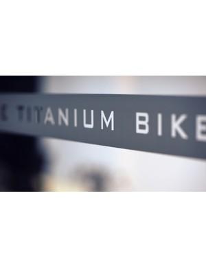 Like titanium bikes? Step this way…