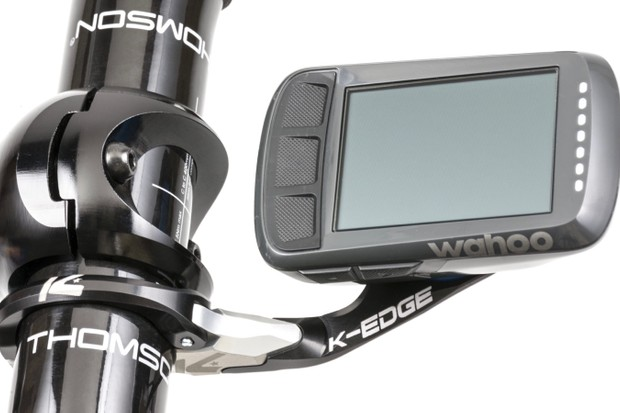 The new 32g Wahoo Bolt Race Mount