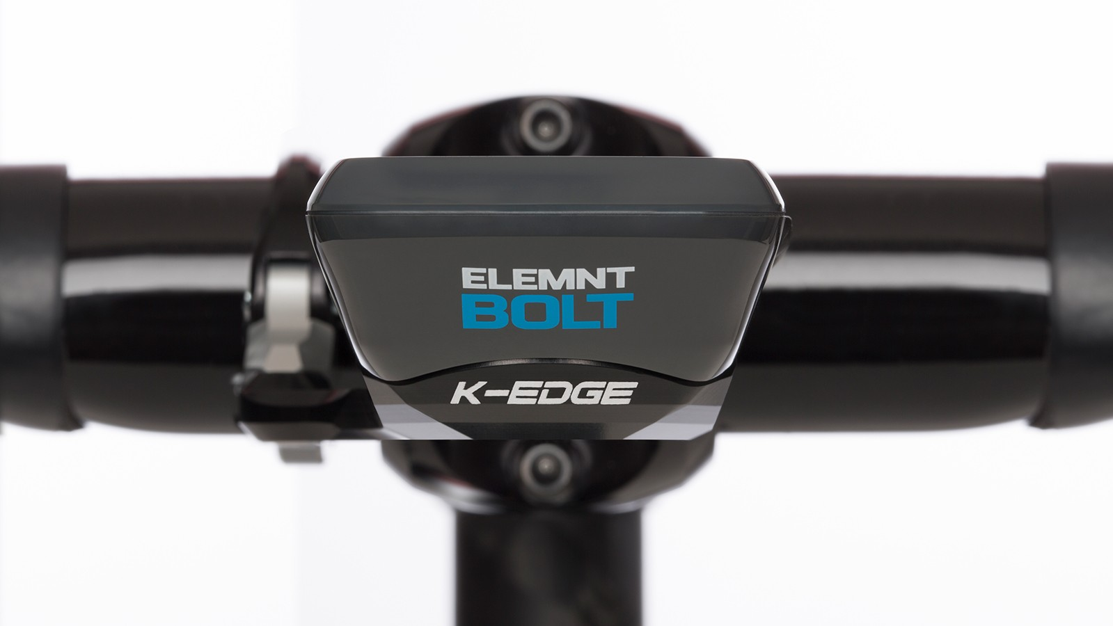 The mount integrates seamlessly with the Wahoo Elemnt Bolt