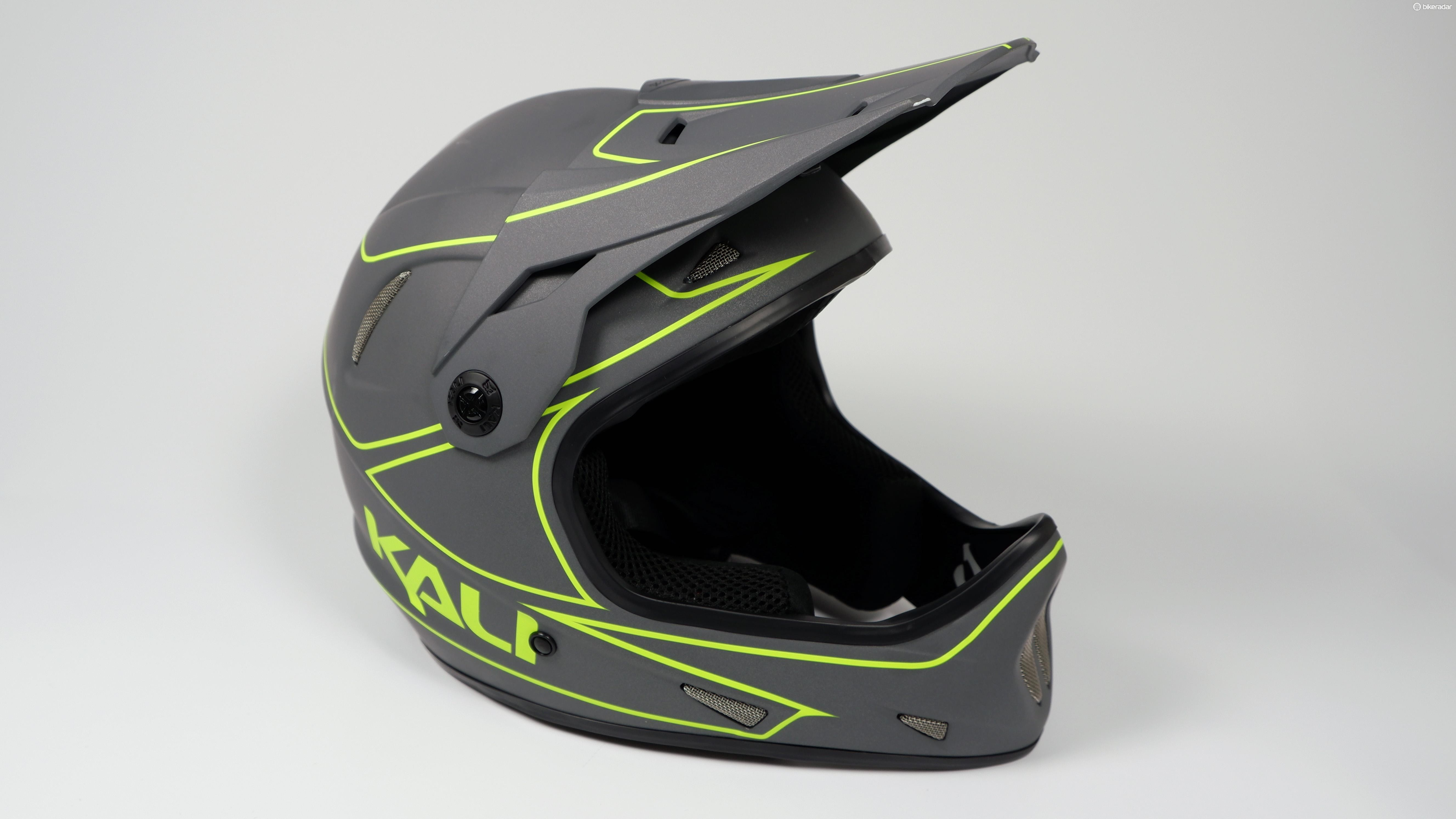 The Kali Alpine full-face helmet is claimed to be one of the lightest on the market