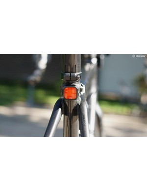 Race rules require front and rear tail lights, because many riders finish well after dark