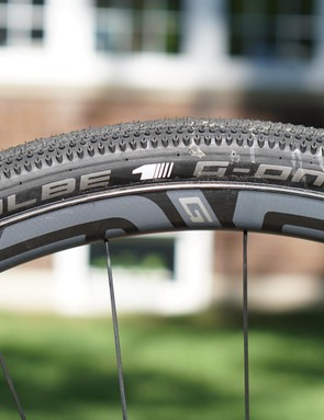 I tested the G23s with Schwalbe G One 38mm tubeless
