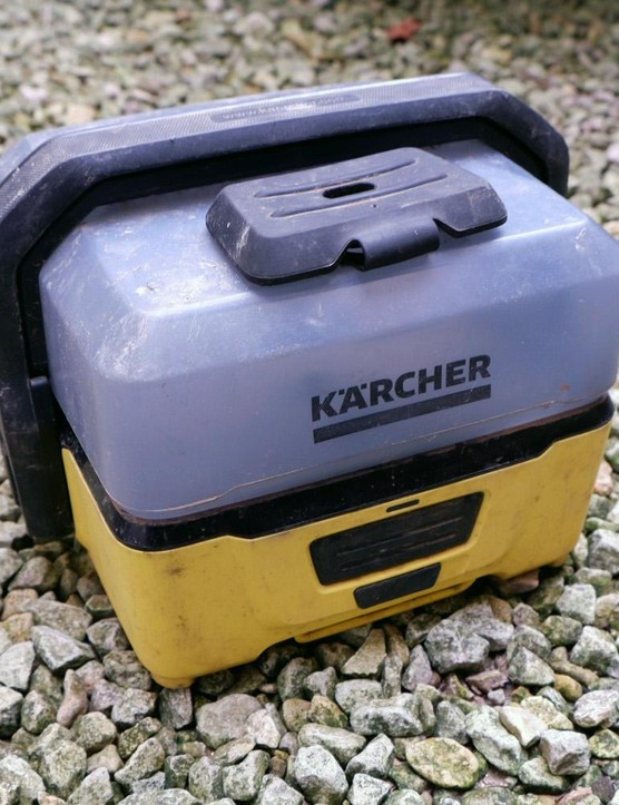 This compact Karcher washer is great for getting the worst of the muck off