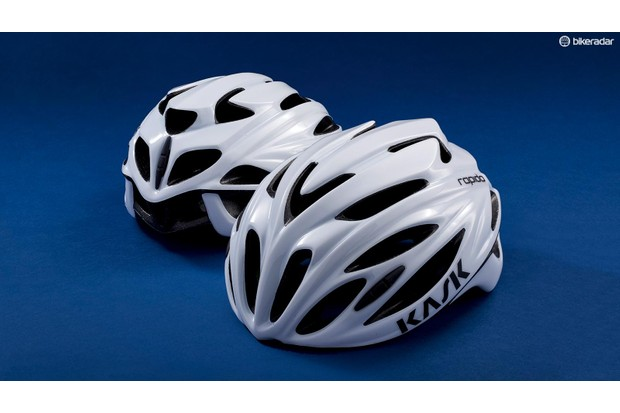 The Rapido is based on Kask's high-end helmets