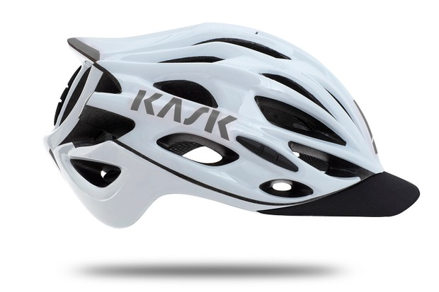 The Kask Mojito X has a gravel-specific peak