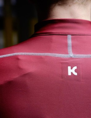 Flatlock stitching on the rear of the jersey and bib shorts have reflective properties for increased visibility