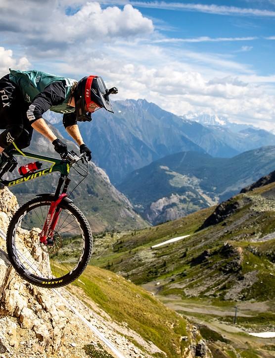 Scary mountain enduro course capable? Yep