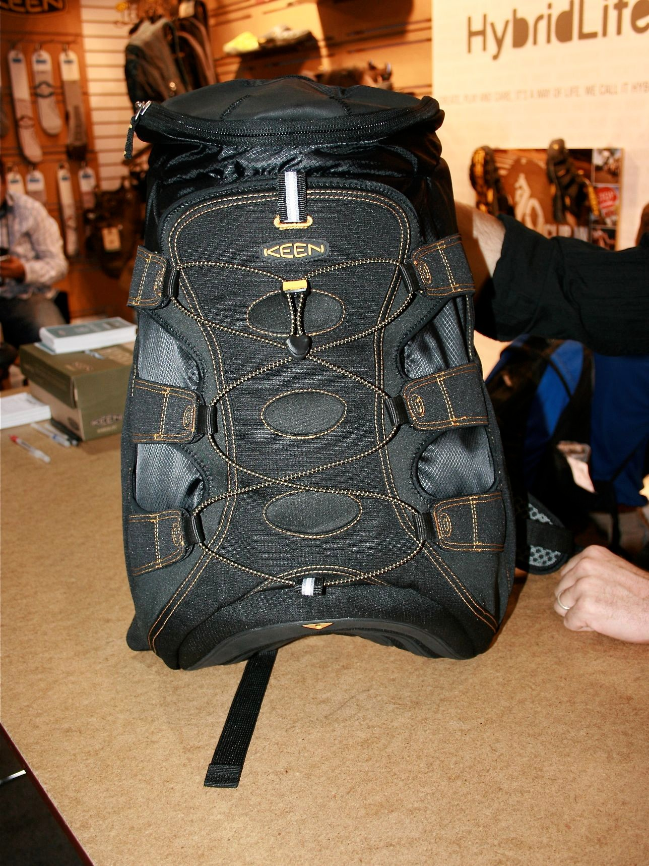 Running Keen sandals? Here's a new commuter backpack to match your Newports.