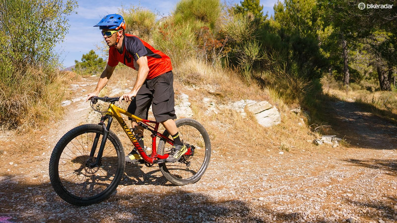 Even die-hard trail riders can get on with the 2018 Epic