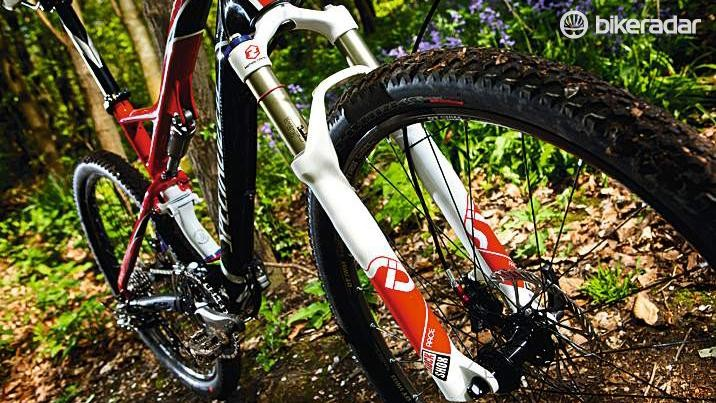 Small wheels and relatively conservative geometry were the hallmarks of XC bikes