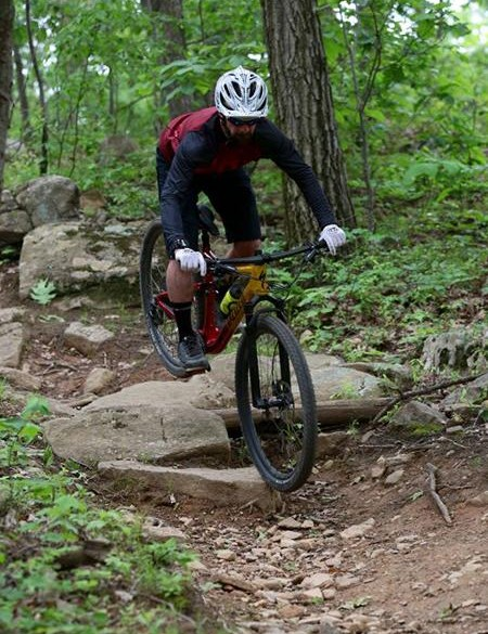 The new Epic can get pretty rowdy on the trails