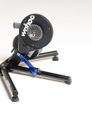 The Wahoo Kickr is an excellent all-around smart trainer. It folds down compactly, it's quiet, and its power tracks closer to power meters than any other trainer