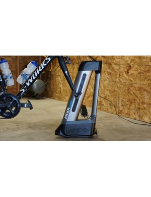 The Wahoo Kickr Climb works with new Kickr and Kickr Snap smart trainers to simulate elevation changes