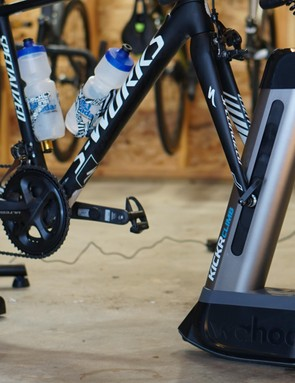 The Climb only works with newer (2017) Kickr and Kickr Snap smart trainers. The original Kickr has fixed dropouts, and the bike needs to pivot