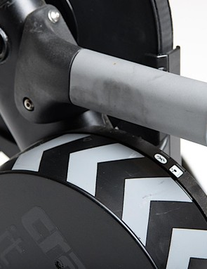 A sturdy handle is handy for a 47lb trainer