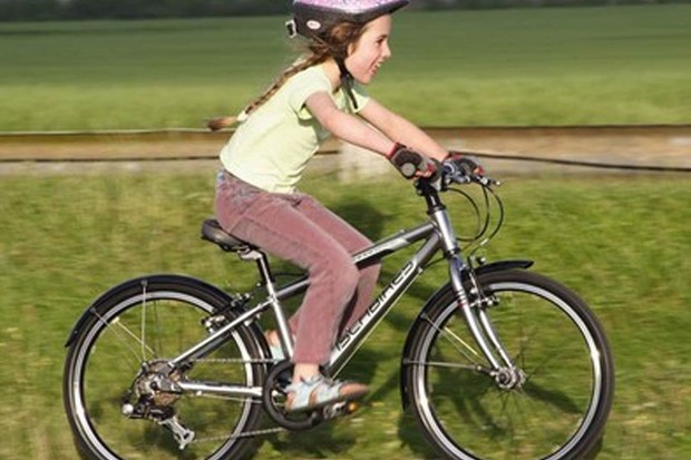 Not all youngsters need much encouragement to get cycling