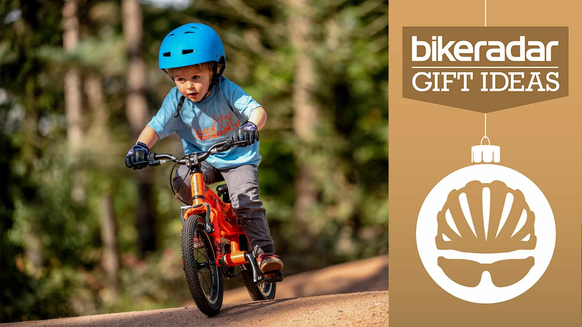 There's no better Christmas present for a kid than a bicycle