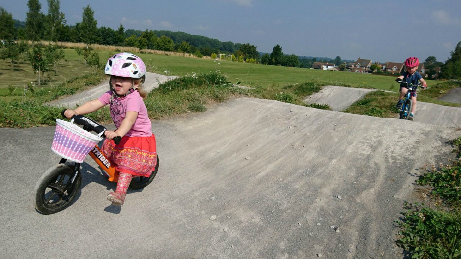 Just think: local pump tracks could be where our future world champs get their first taste for riding!