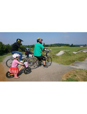 Facilities like pump tracks take up little room and can be used by kids of all ages