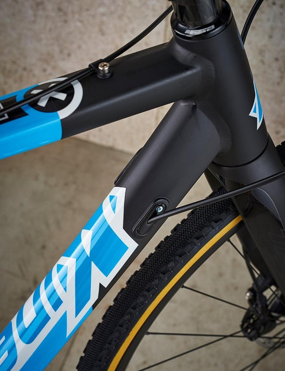 Scandium-aluminum frame boosts the Race's competitive edge