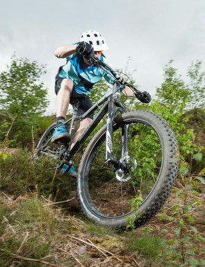 The alloy tubeset delivers a well-mannered mix of fatigue-reducing forgiveness with enough punch to get the big tyres moving