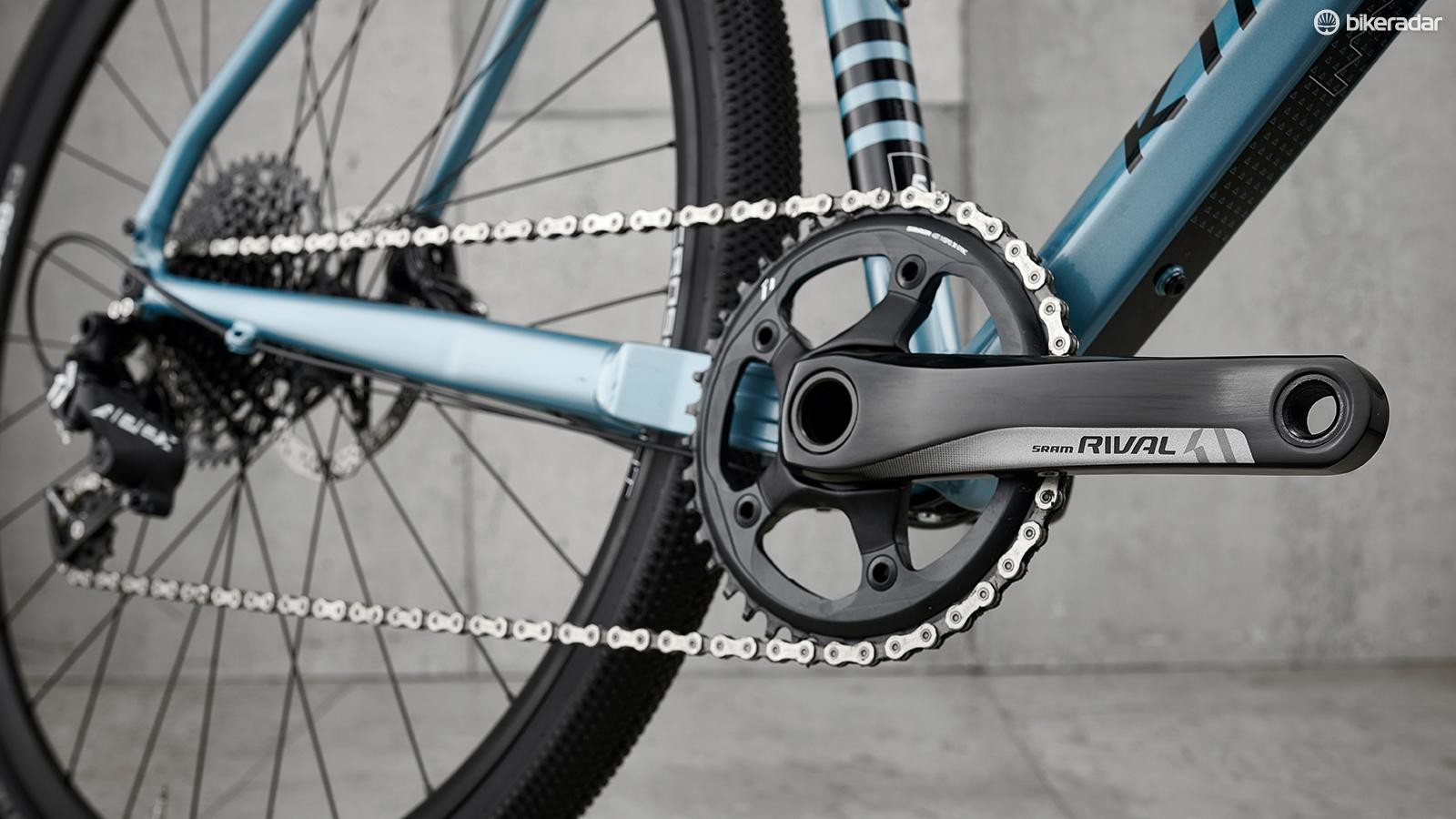 SRAM Rival cranks join the Apex drivetrain