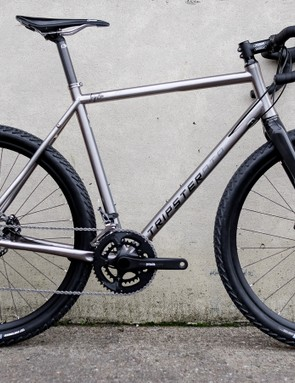 Kinesis was showing off this beefy-tyred Tripster ATR