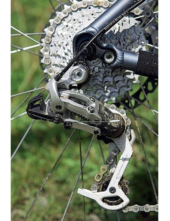 SRAM's transmission components make a refreshing change from Shimano