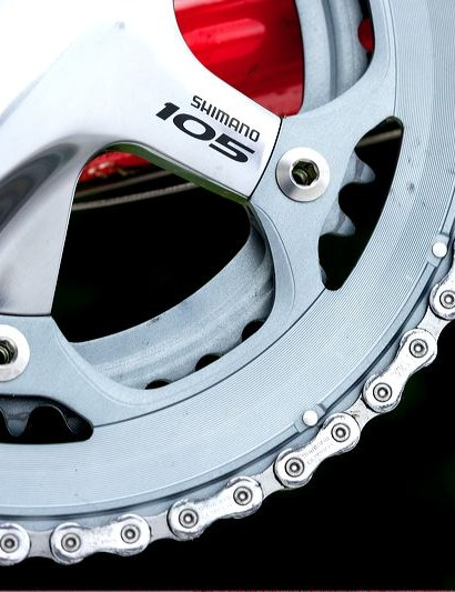 At the heart of the groupset is a proven Shimano 105 compact drivetrain.