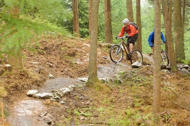 Benromach Three Tens mountain bike race