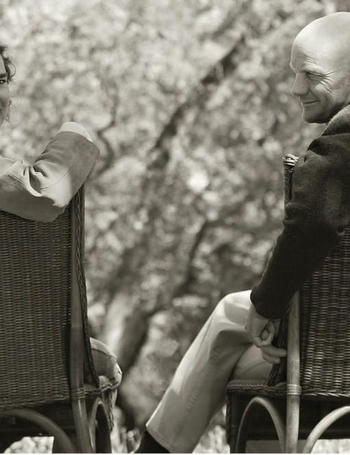 Kit Crawford and her husband, Gary Erickson.