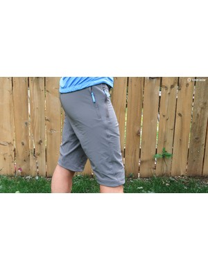 The Kitsbow Origin A/M shorts have a semi-fitted profile