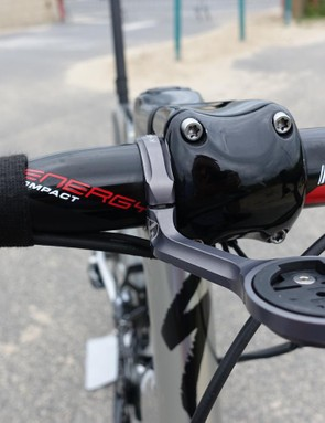 Kittel is very particular about his handlebars and likes them to remain the same between his Tarmac and Venge. His bar of choice is an FSA Energy Compact, measuring 42cm outside-outside