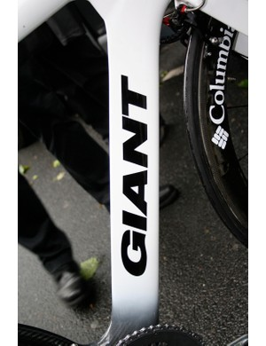 Kirchen's down tube is deep but slender but where does the bottle cage go?
