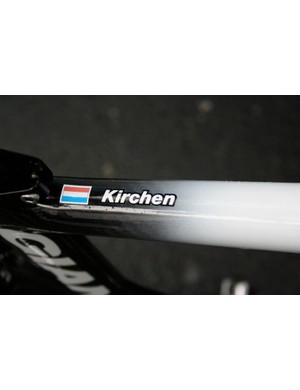 Kirchen is the champion of Luxembourg and if this were not a prototype one wonders how much bigger that flag would have been.