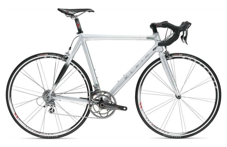 A classic Klein aluminium road bike.