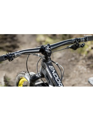 The Endorphin's suspension character makes it ill-suited to rough trails