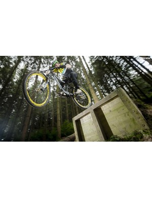 The Knolly will be happiest in smooth, flowy bike parks
