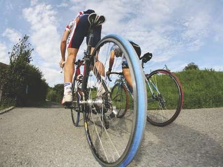Powering up climbs in training is essential to improve during events