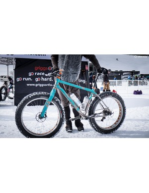 The most beautiful bike in the race: Twenty2 Cycles' stunning Ti fat bike