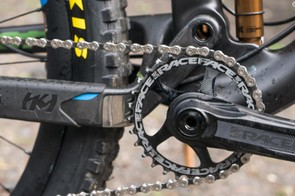 A slightly higher main pivot gives more pedalling focused suspension response