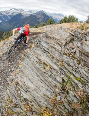 For a bike that's made to excel both up and down, the Hei Hei Trail is impressively capable on the descents