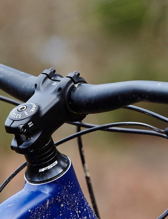 Fitting a shorter stem would help increase the Honzo's willingness to hop and manual