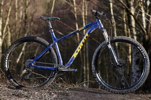 Kona's Honzo AL goes a long way to fulfilling the brand's goal of creating a do-it-all hardtail