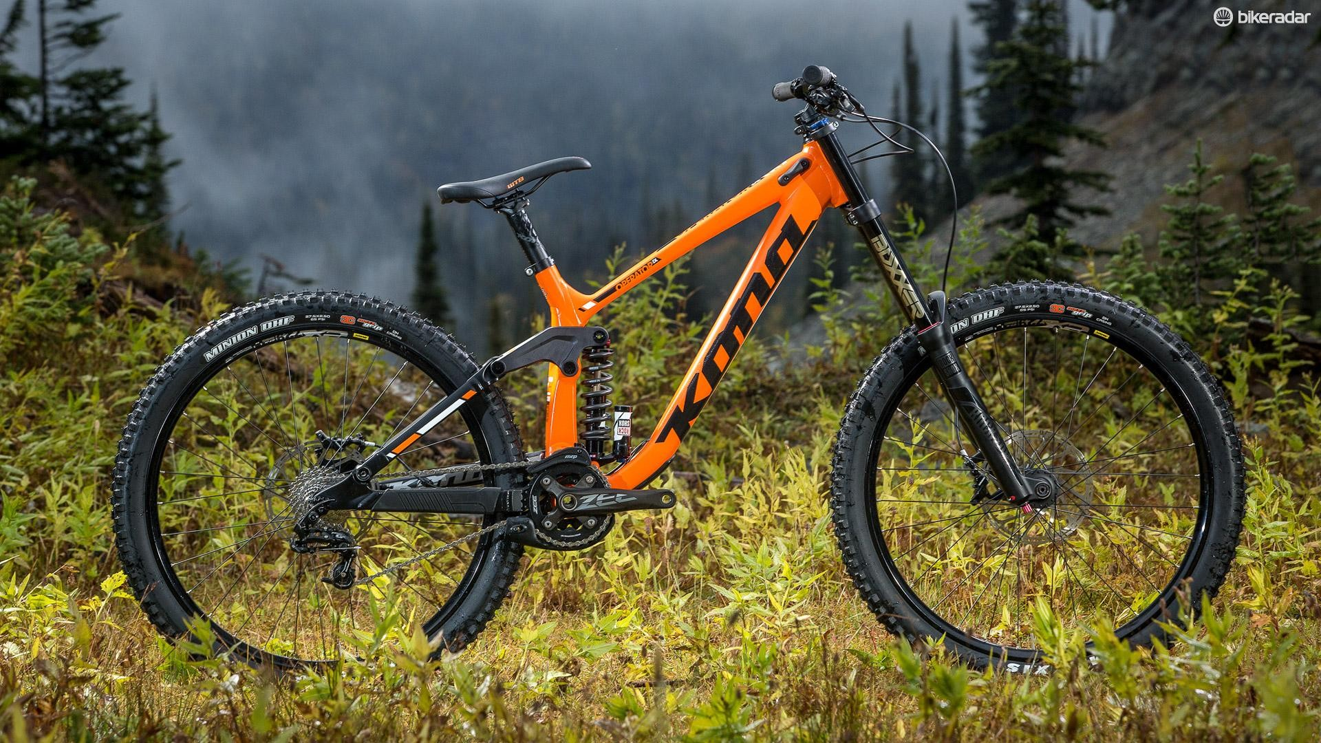 There's now no carbon option, but the reach has been increased and the suspension made more progressive