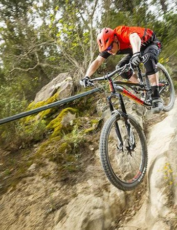 Get the Kona into its natural habitat and you'll soon forgive and forget its sluggish performance on uphill or undulating trails