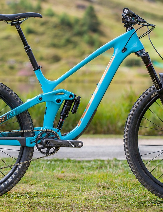 The all new Kona Process 153 CR/ DL 27.5 - the flagship model in the Pacific North West brand's 2018 lineup