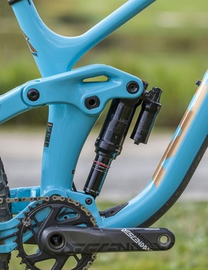 Inspired by its Operator downhill bike, Kona claims that the Process's new suspension design is as supple, supportive and progressive as the old bike, but with much improved climbing prowess