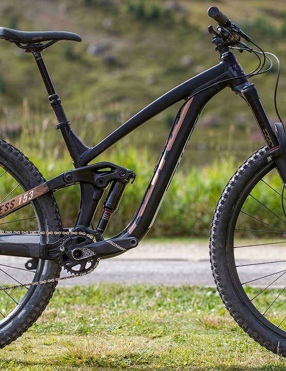 In 29inch wheels, Kona is offering the same spec options that are available on its aluminium 27.5inch bikes. There is no carbon option at present, but watch this space