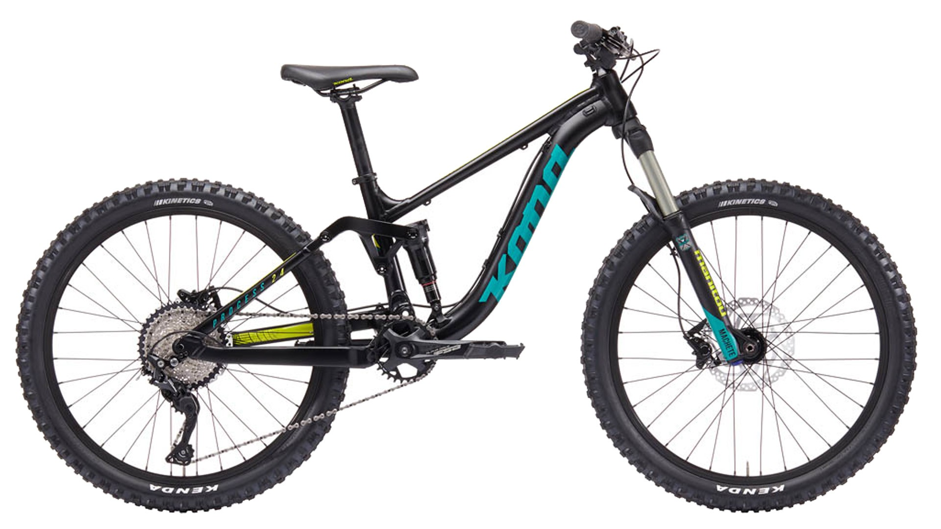 The Kona Process is a great bike for the young enduro rider